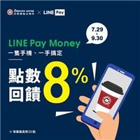 LINE Pay 咖啡季來啦!每筆可享 8%點數回饋