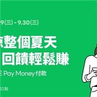 來店消費透過LINE Pay ,使用LINE Pay Money付款,筆筆享6%回饋