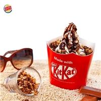 酥脆KitKat巧克力和綿密的冰淇淋聖代,嚐鮮價$49