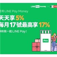 線上訂購系統訂餐拿點數回饋,使用LINEPayMoney付款,天天享5%