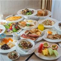 漢來店限定每日前100名,早餐吃到飽,原價480元、特價只要300元
