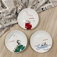 快到MOS購買指定套餐,+$199加購SNOOPY摩斯陶瓷圓盤1個
