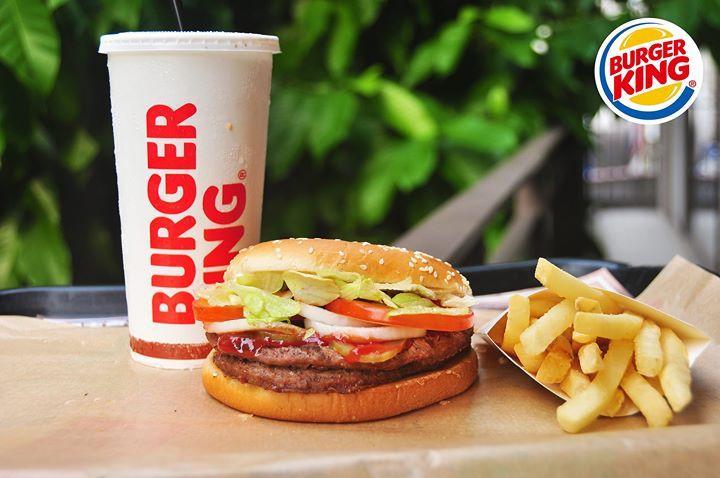 漢堡王,雙層華堡餐,加點份量,讓生活變的不一樣
