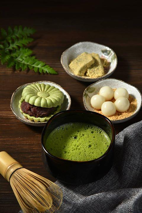 藝奇新日本料理,宇治抹茶祭,抹茶白玉甜點組合
