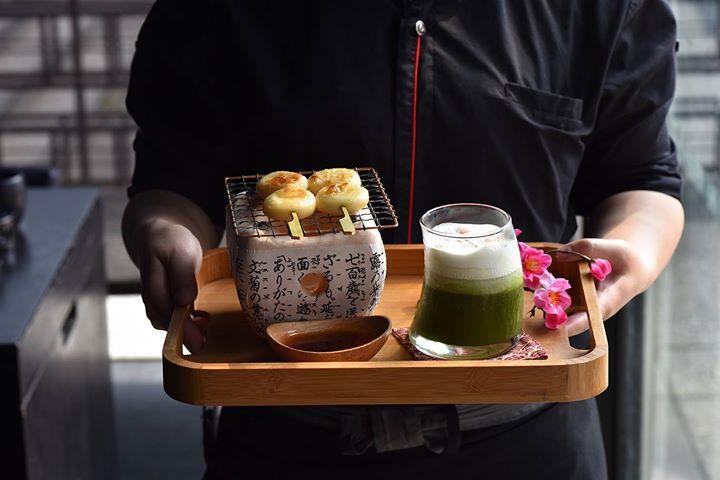 藝奇新日本料理,只要抽到免費籤,3道甜點任你選,只到4月底