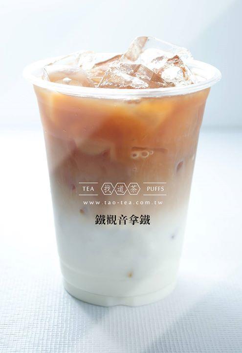 找道茶, 鐵觀音拿鐵,醇厚順口的口感,有小碎冰更好喝哦