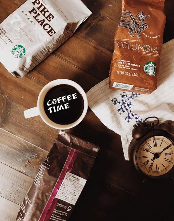 星巴克,買咖啡豆包裝上印指定圖示,將贈你一杯小杯每日精選咖啡