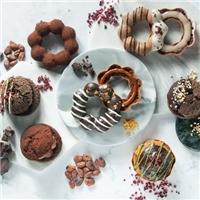 期間限定的巧克力季甜甜圈,也在外送平台上訂的到囉