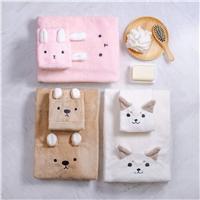 Miine動物造型擦髮巾&浴巾,來小屈購物就可享超划算換購價